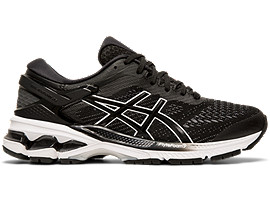 GEL-KAYANO 26, BLACK/WHITE