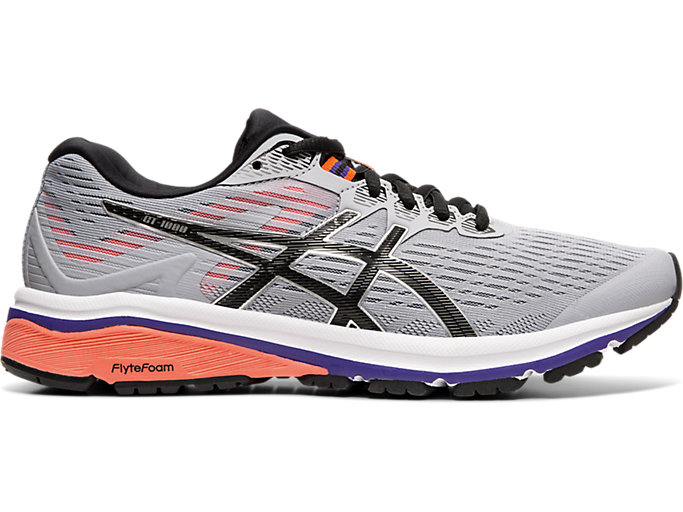 Women's GT 1000™ 8 | PIEDMONT GREYBLACK | Running Shoes | ASICS