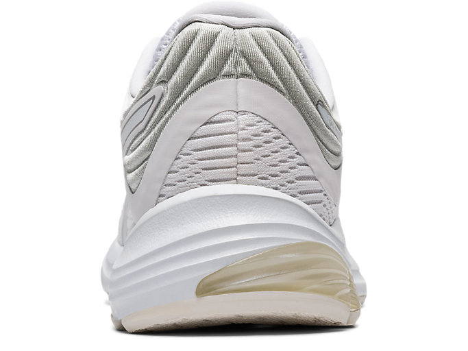 Back view of GEL-PULSE™ 11, WHITE/PURE SILVER