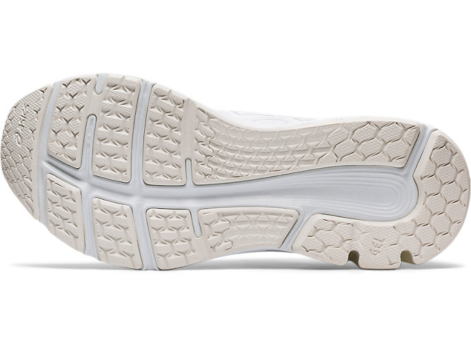 Bottom view of GEL-PULSE™ 11, WHITE/PURE SILVER