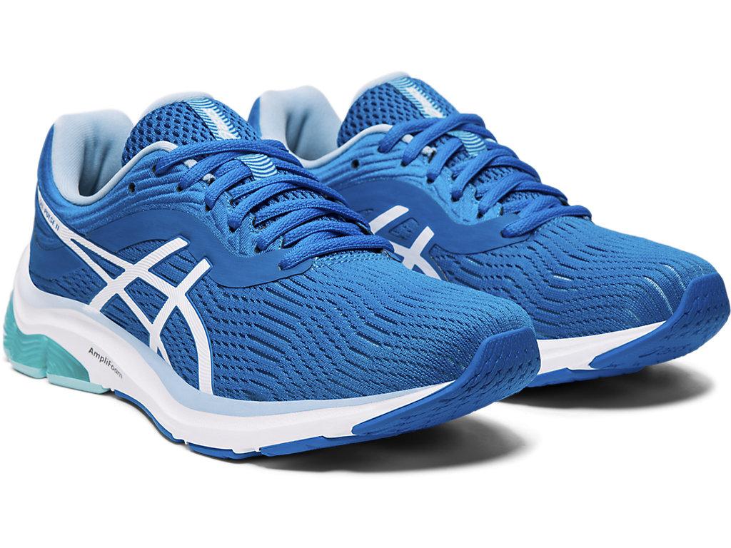 Shoes ASICS Gel Pulse 11 1012A467 Directoire BlueWhite
