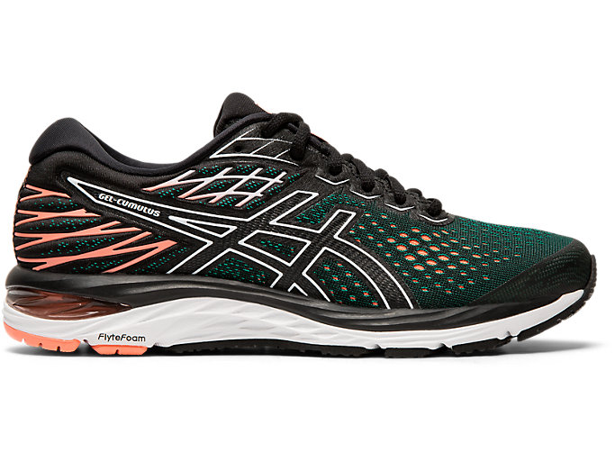 Women's GEL CUMULUS 21 | BLACKSUN CORAL | Running Shoes | ASICS