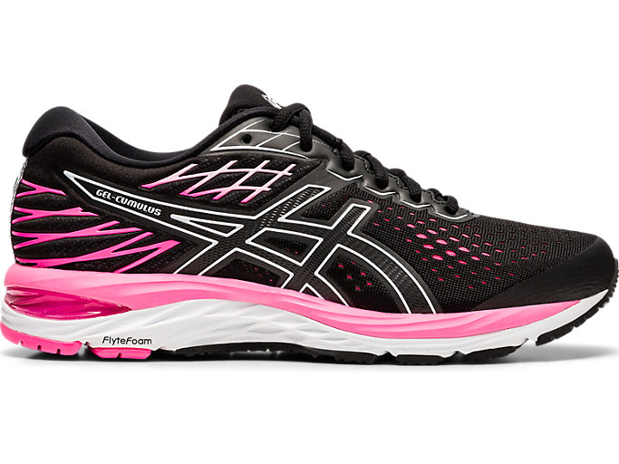 Women's GEL CUMULUS 21 | BLACKBLACK | Running Shoes | ASICS
