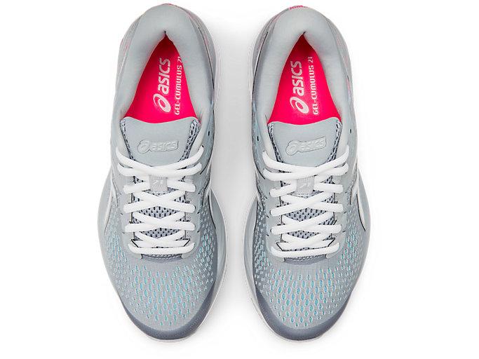 ASICS Gel Cumulus 21 Women's Shoes Piedmont GreyWhite