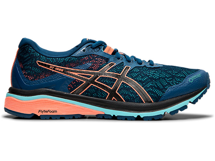 Women's GT 1000 8 G TX | Mako Blue Black | Running Shoes