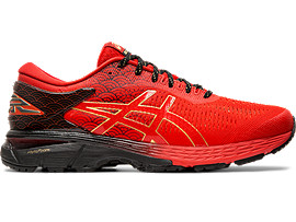 Right side view of GEL-KAYANO 25, CLSR / BLACK