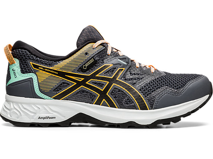 Women's GEL-SONOMA 5 G-TX | METROPOLIS/BLACK | Trail Running ...