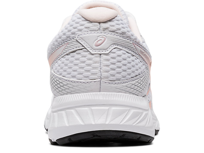 Back view of GEL-CONTEND 6, WHITE/BREEZE
