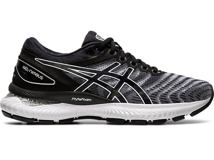 Women's GEL NIMBUS 22 | WHITEBLACK | Running Shoes | ASICS