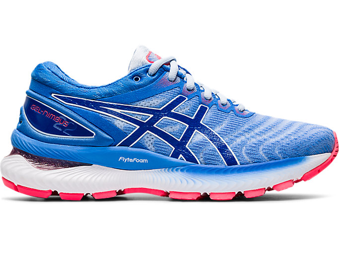 Women's GEL NIMBUS 22 | SOFT SKYTUNA BLUE | Running Shoes