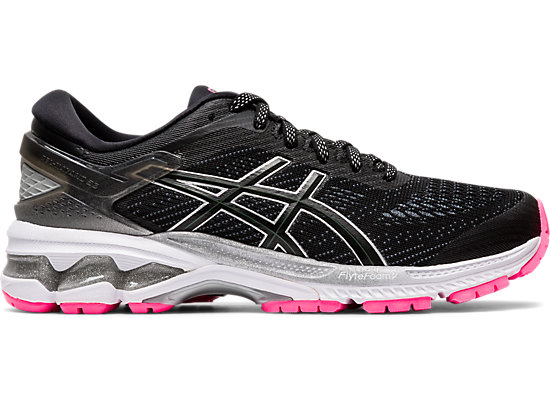 Popular Black Black Asics Running Shoes Gel Kayano 20 Men's