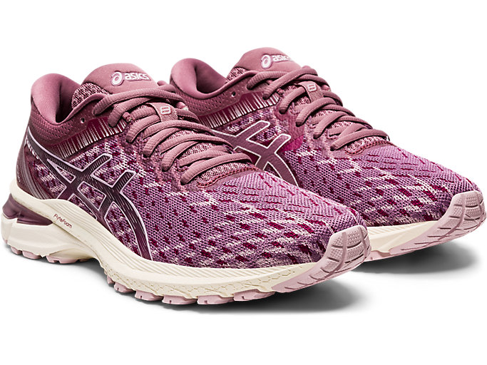 Women's GT 2000 8 Knit Watershed RoseWhiteKjører Watershed RoseWhite Running