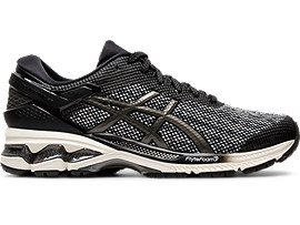 Right side view of GEL-KAYANO 26 MX, BLACK/GUNMETAL