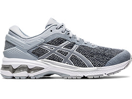Right side view of GEL-KAYANO 26 MX, PIEDMONT GREY/SHEET ROCK