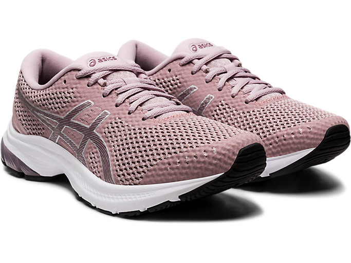 Front Right view of GEL-KUMO LYTE MX, WATERSHED ROSE/PURPLE OXIDE