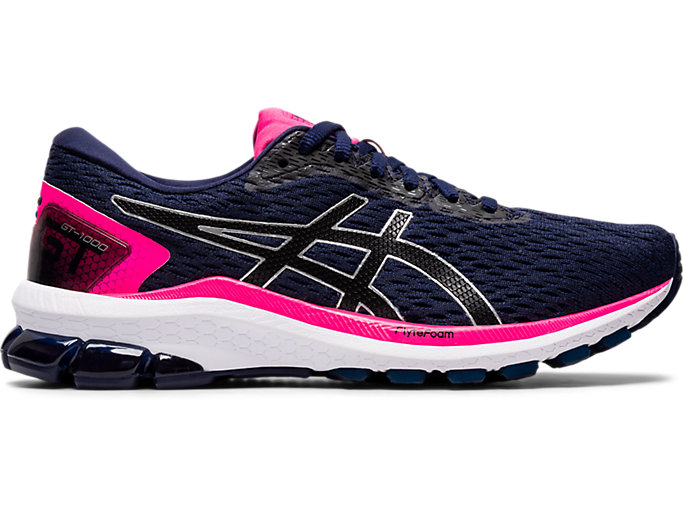 Women's GT-1000 9 | PEACOAT/BLACK | Running Shoes | ASICS