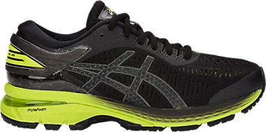 f190f06ed GEL-KAYANO 25 GS BLACK NEON LIME 3 RT