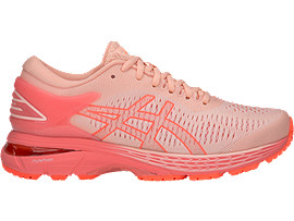GEL-KAYANO 25 GS, BAKEDPINK/PAPAYA