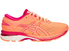 GEL-KAYANO 25 GS, SHOCKING ORANGE/BLACK