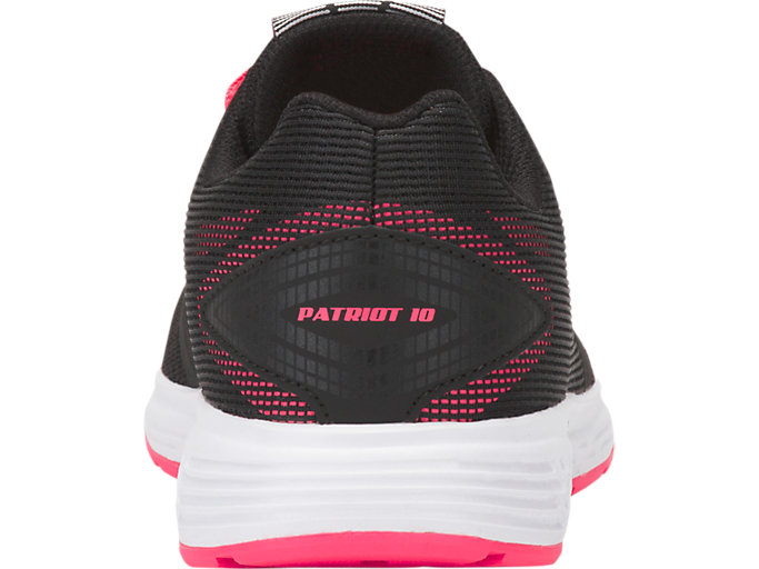 Back view of PATRIOT 10 GS, BLACK/PINK CAMEO