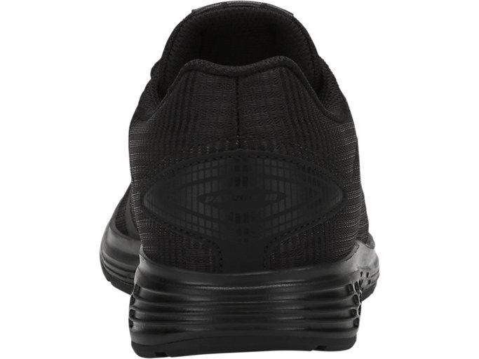 Back view of PATRIOT 10 LS GS, BLACK/BLACK
