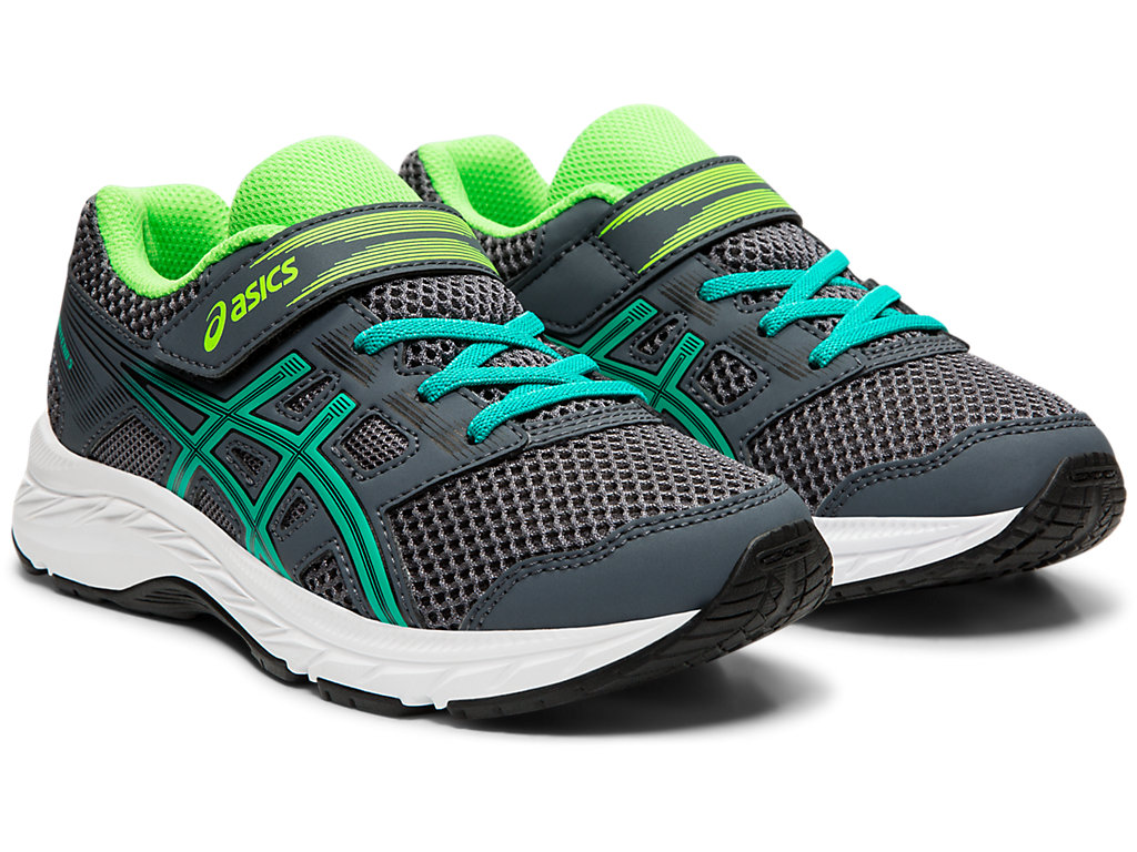 ASICS-Kid-039-s-Contend-5-PS-Running-Shoes-1014A048 thumbnail 56
