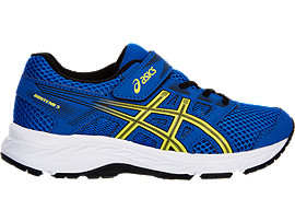 7314757c GT-1000 7 PS | Kids | Race Blue/Neon Lime | ASICS US