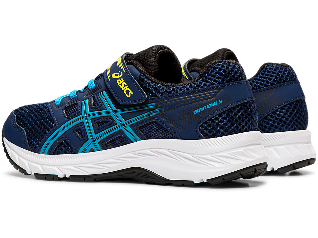 ASICS-Kid-039-s-Contend-5-PS-Running-Shoes-1014A048 thumbnail 48