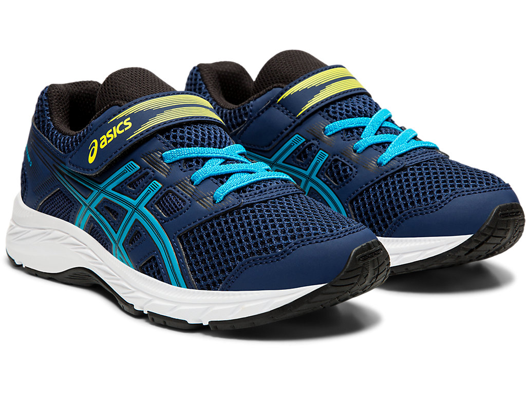 ASICS-Kid-039-s-Contend-5-PS-Running-Shoes-1014A048 thumbnail 47