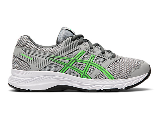 fe15b4ce4 GEL-Contend 5 GS | Kids | Mid Grey/New Leaf | ASICS US