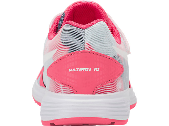 Back view of PATRIOT 10 PS SP, PINK CAMEO/WHITE