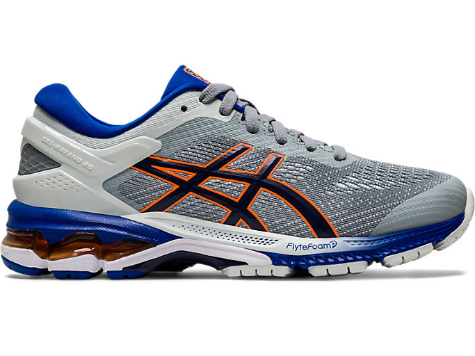 Right side view of GEL-KAYANO 26 GS, POLAR SHADE/BLACK