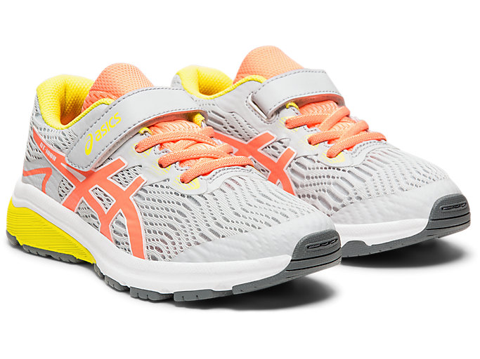 Front Right view of GT-1000™ 8 PS, PIEDMONT GREY/SUN CORAL