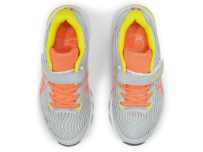 Top view of GT-1000™ 8 PS, PIEDMONT GREY/SUN CORAL
