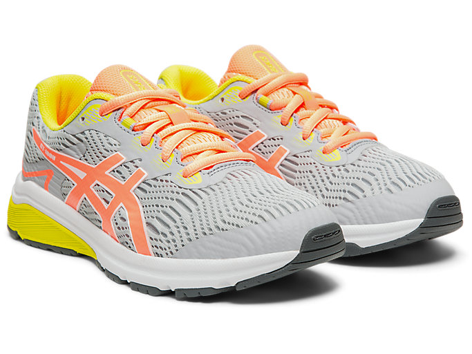Front Right view of GT-1000™ 8 GS, PIEDMONT GREY/SUN CORAL