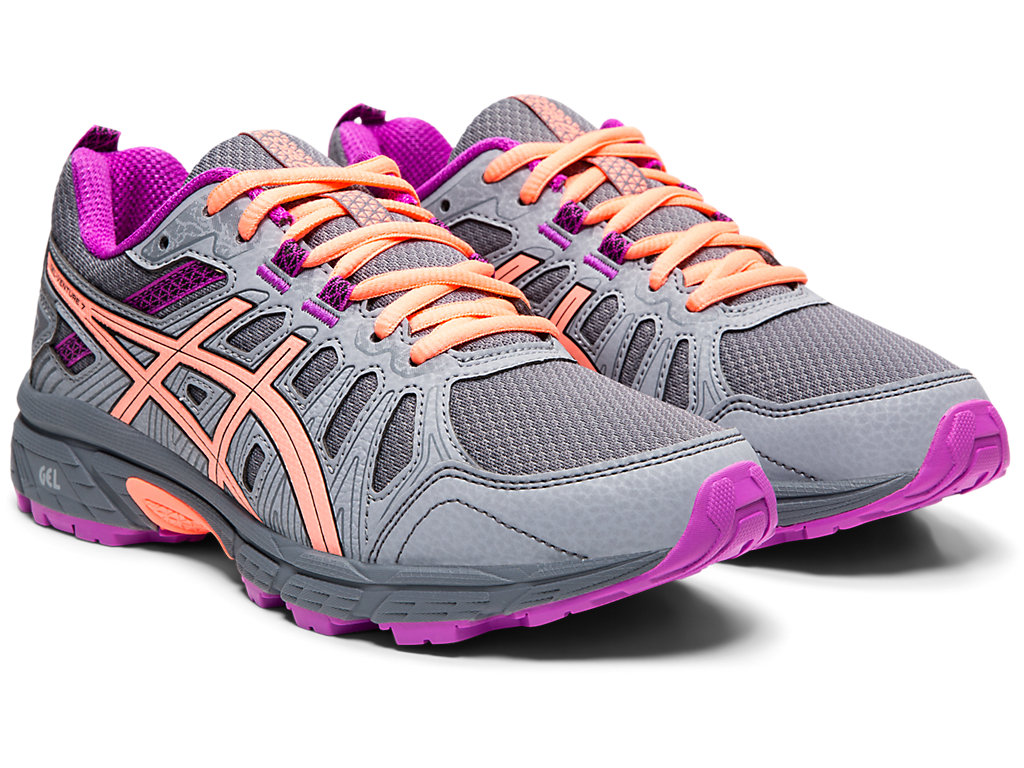 9e2c9092fc994 Details about ASICS Kid's GEL-Venture 7 GS Running Shoes 1014A072