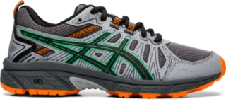 asics roadhawk ff gs junior running shoes youtube