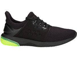 Right side view of GEL-KENUN LYTE, BLACK/BLACK