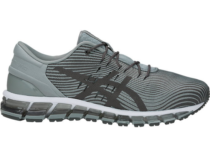 Right side view of GEL-QUANTUM 360 4, STONE GREY/DARK GREY