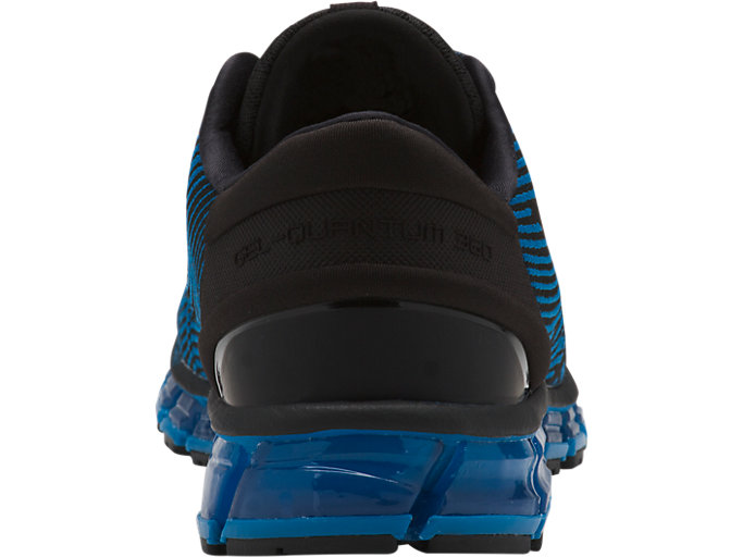 Back view of GEL-QUANTUM 360 4, RACE BLUE/BLACK