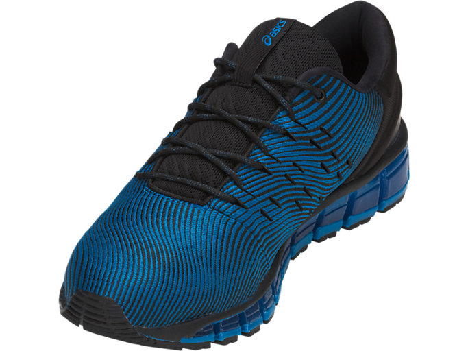Front Left view of GEL-QUANTUM 360 4, RACE BLUE/BLACK