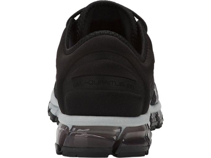 Back view of GEL-QUANTUM 180 3, BLACK/BLACK