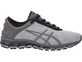 Right side view of GEL-QUANTUM 180 3, MID GREY/BLACK