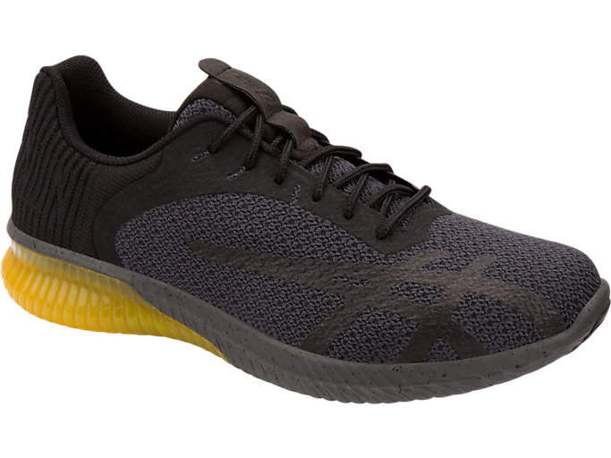 Front Right view of GEL-KENUN 2, BLACK/BLACK