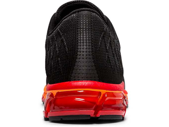 Back view of GEL-QUANTUM 180™ 4, BLACK/CLASSIC RED