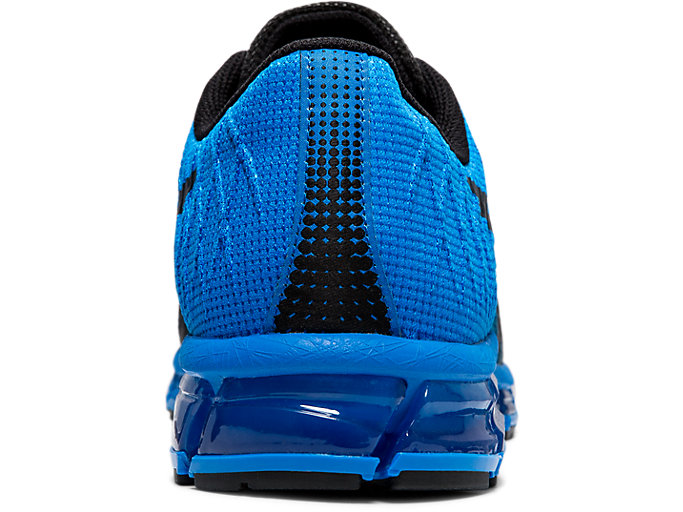 Back view of GEL-QUANTUM 180™ 4, ELECTRIC BLUE/BLACK