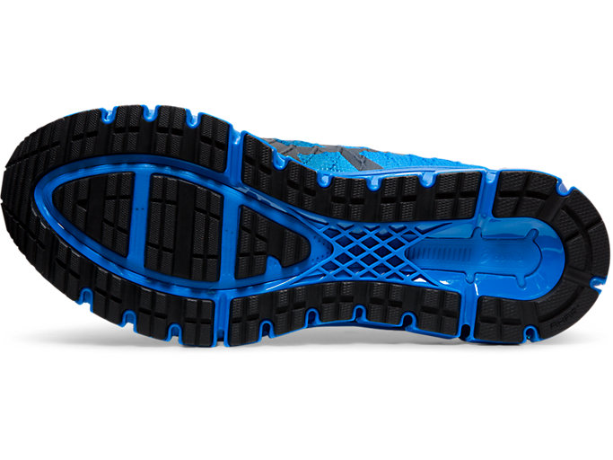 Bottom view of GEL-QUANTUM 180™ 4, ELECTRIC BLUE/BLACK