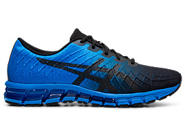 Right side view of GEL-QUANTUM 180 4, ELECTRIC BLUE/BLACK