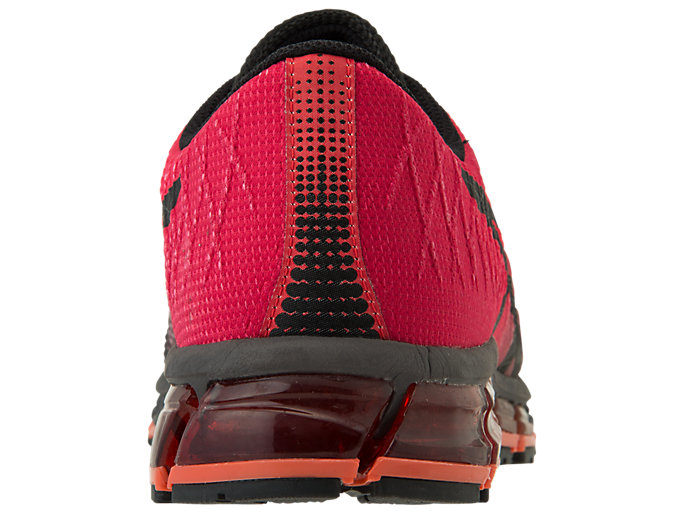 Back view of GEL-QUANTUM 180™ 4, CLASSIC RED/BLACK