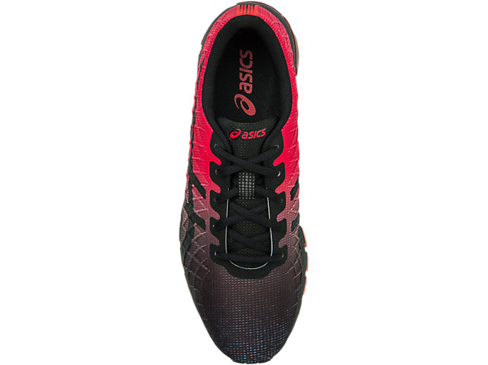 Top view of GEL-QUANTUM 180™ 4, CLASSIC RED/BLACK